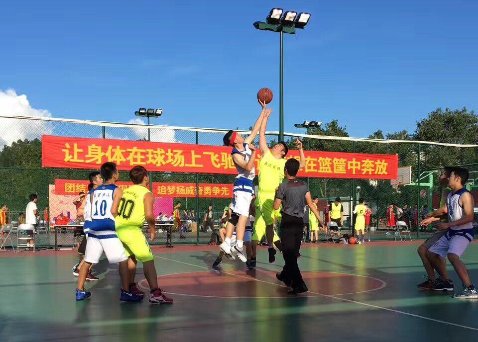 坪山区篮球赛